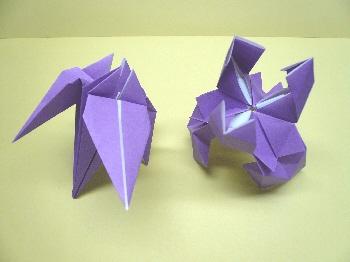 簡単 折り紙 折り紙 あやめ : chika-chu.blog.so-net.ne.jp